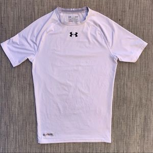 Under Armour Heat Gear Compression Shirt Size L
